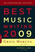 Best Music Writing 2009 cover